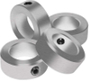 Shaft Collars--Clamping Collars with 2 splits